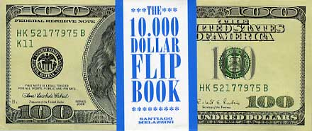 The 10,000 Daller Flip Book